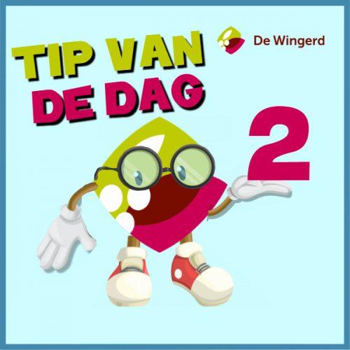 tip van de dag - Made with PosterMyWall