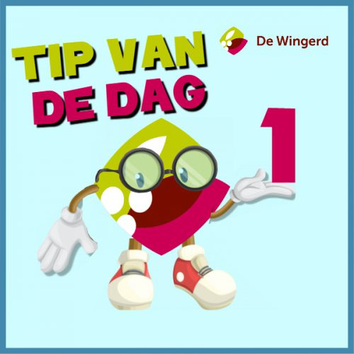 tip van de dag - Made with PosterMyWall