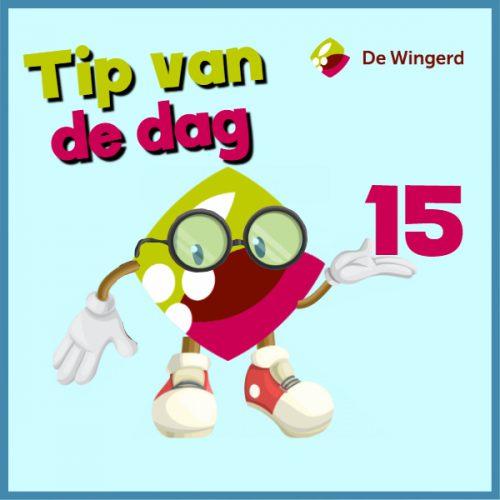 tip van de dag 14 - Made with PosterMyWall