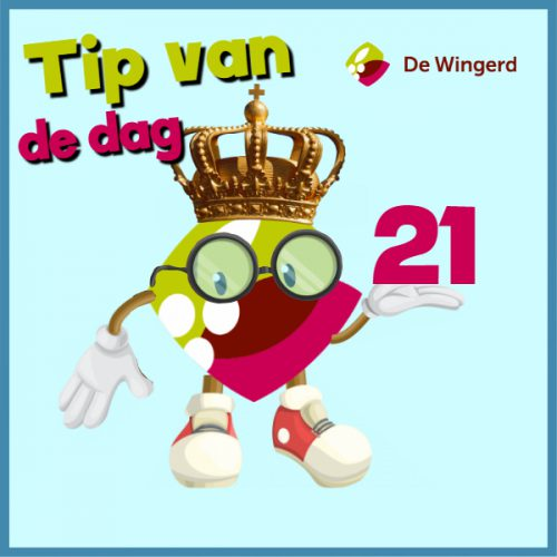tip van de dag 17 - Made with PosterMyWall